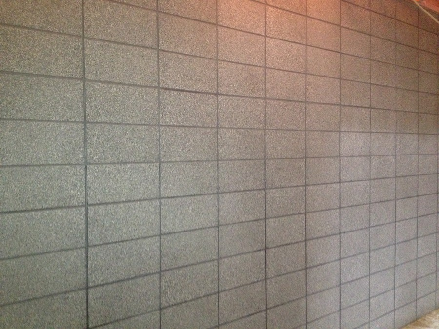 Polished Concrete Block Walls Wellington