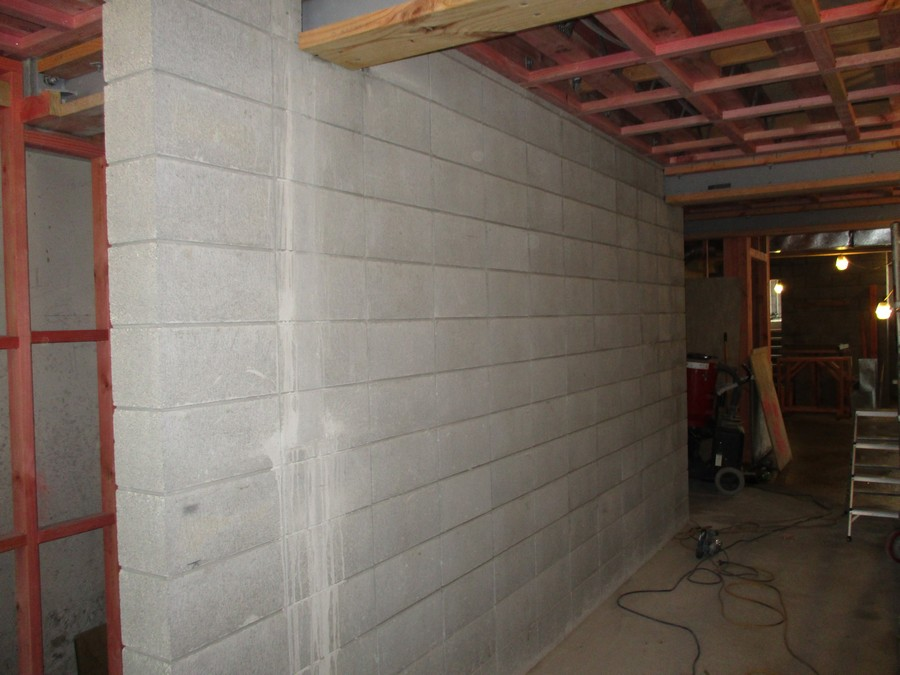 Polished Concrete Block Walls Wellington